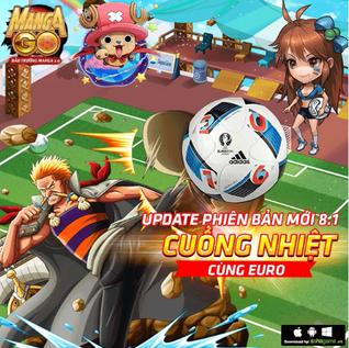 UPDATE PHIÊN BẢN MỚI 8.1 : CUỒNG NHIỆT CÙNG EURO 2016