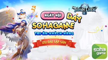 [Sự Kiện Đặc Biệt] Siêu Khuyến Mãi SohaGame Day