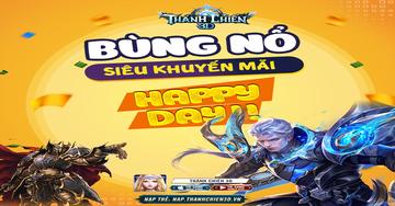 [Sự Kiện Đặc Biệt] Siêu Khuyến Mãi Happy Day