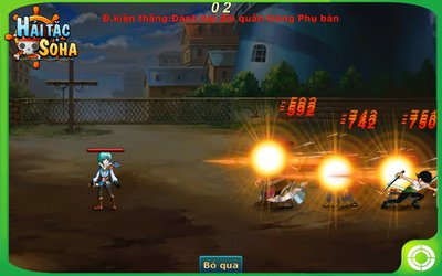 Vua hai tac online game trang chu