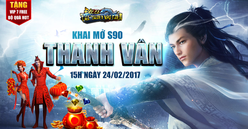 [Thông Báo] - Khai mở máy chủ S90 Thanh Vân ngày 24/02