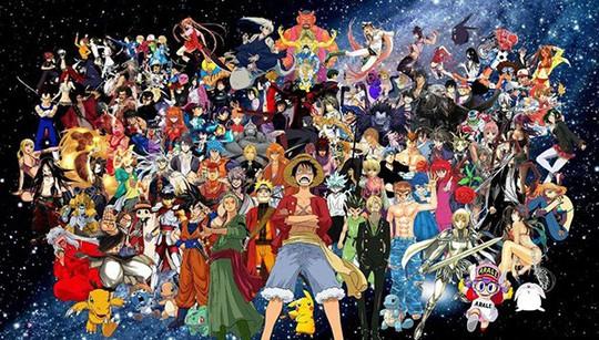 [GAMEK]Khảo sát: Fan của bộ manga/anime nào hay chơi game online nhất?
