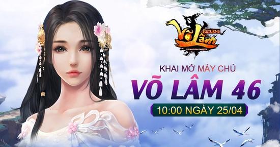 [Thông Báo] - Võ Lâm Returns Khai mở Võ Lâm 46