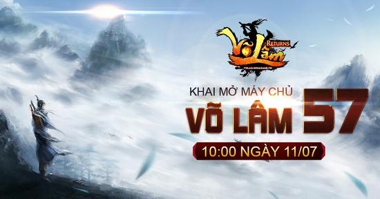[Thông Báo] - Võ Lâm Returns Khai mở Võ Lâm 57