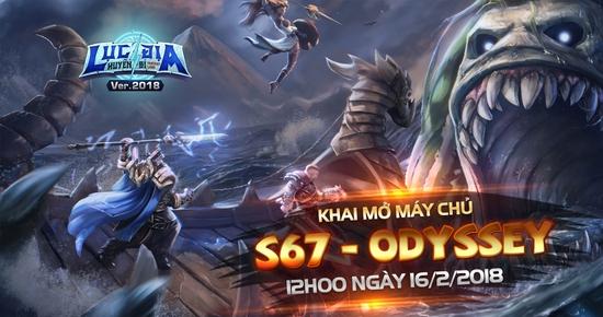 [Tin Tức] Khai Mở Lục Địa S67 - Odyssey