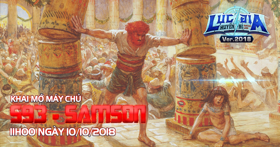 [Tin Tức] Khai Mở Lục Địa S93 - Samson
