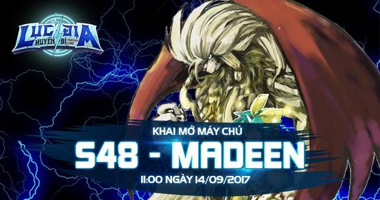 [Tin Tức] Khai Mở Lục Địa S48 - Madeen