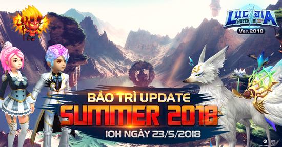 [UPDATE] Lục Địa Huyền Bí Mùa Hè 2018
