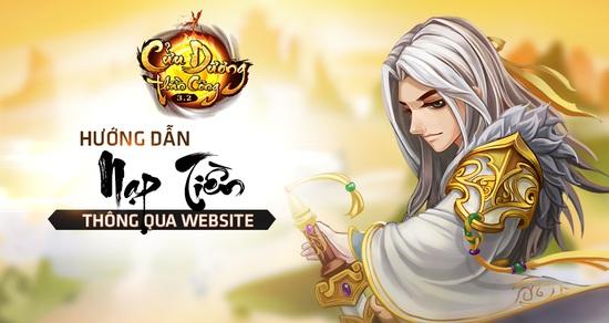 [Hướng Dẫn] - Nạp Vàng trực tiếp vào Game thông qua Website