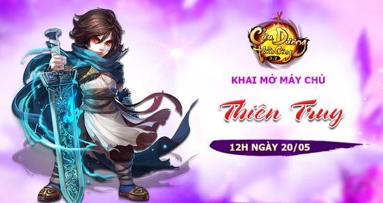 [Thông Báo] Khai mở máy chủ Thiên Truy lúc 12h ngày 20/05