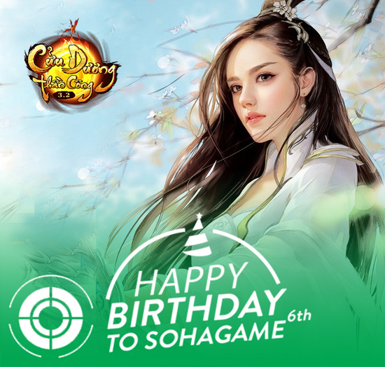 [Chuỗi Sự Kiện] Chúc mừng sinh nhật SohaGame 6 tuổi