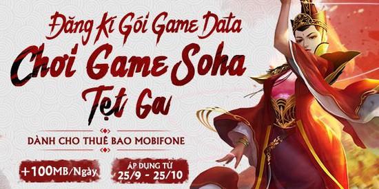 Mobifone ra mắt gói cước Game Data siêu rẻ dành cho game thủ